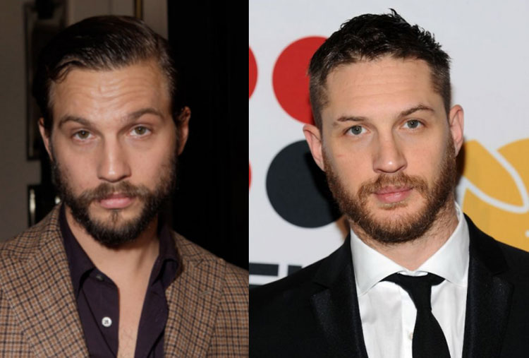 Logan Marshall-Green and Tom Hardy