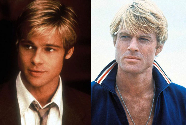 Brad Pitt and Robert Redford