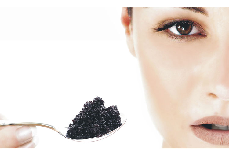 Caviar facials