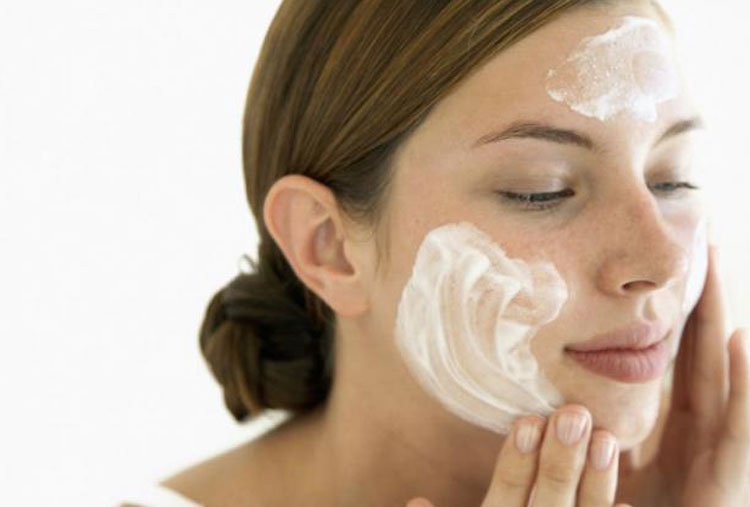 Apply cleanser correctly