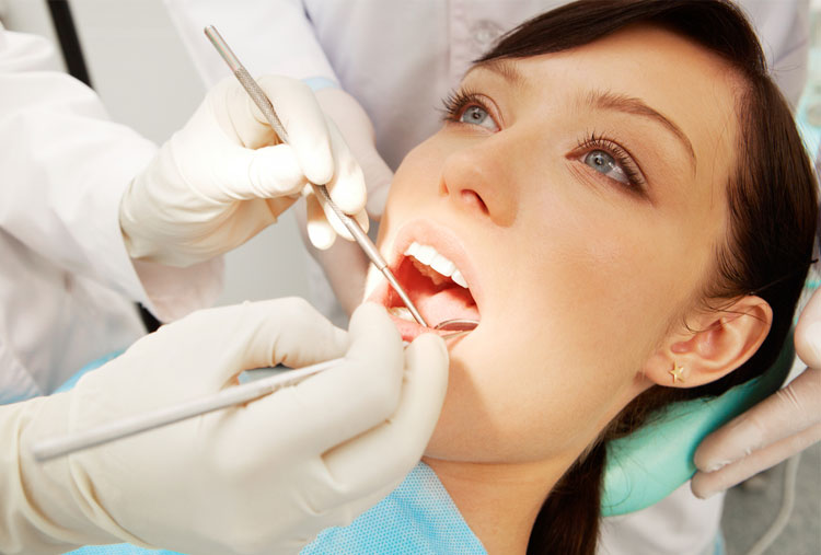 Regular dental visits
