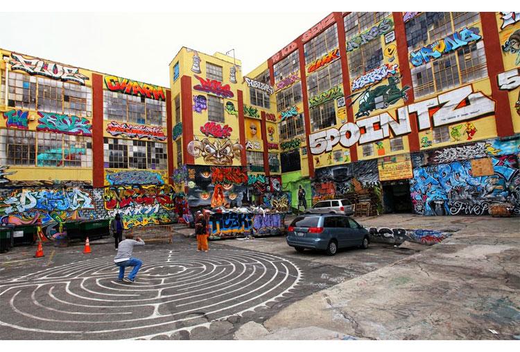 Enjoy the city's street art