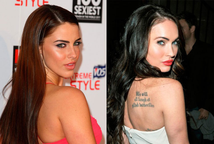 Jessica Lowndes and Megan Fox
