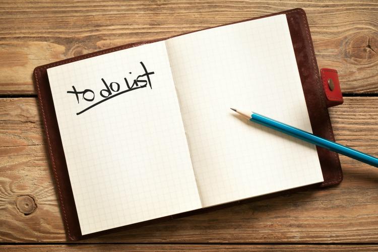 Write a To Do list