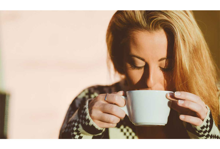 Avoid caffeine, nicotine and alcohol before bedtime