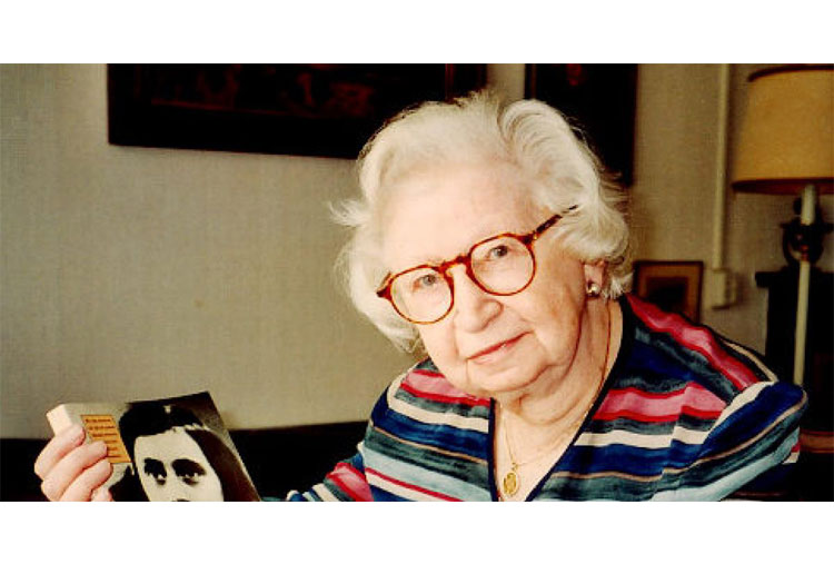 Miep Gies would have destroyed the diary