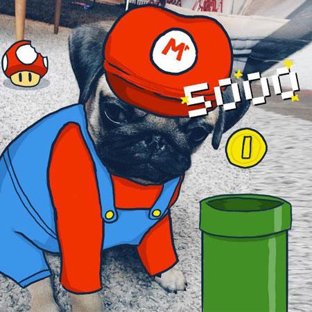 It's me, Mario