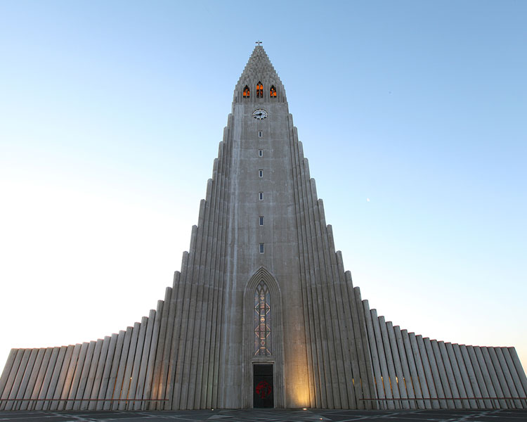 The coolest church in Iceland