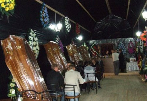 The creepiest restaurant in Ukraine