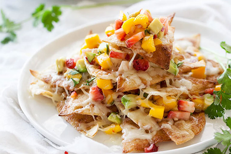 Sweet nachos