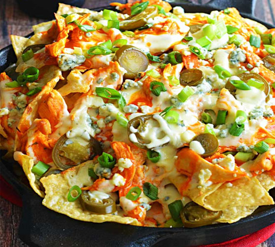 Roasted Pumpkin Nachos