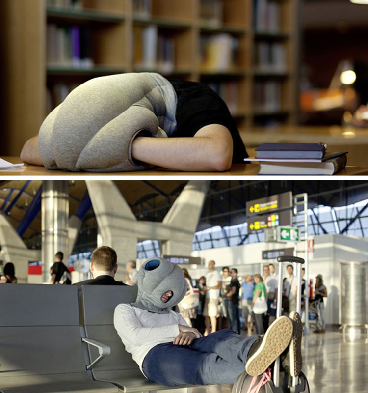 Now you can sleep comfortably anywhere!