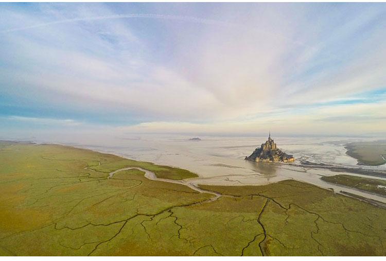 Mont Saint Michel, In Normandie, France