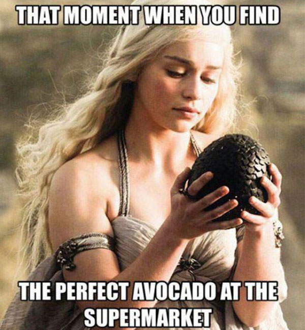 We LOVE avocados