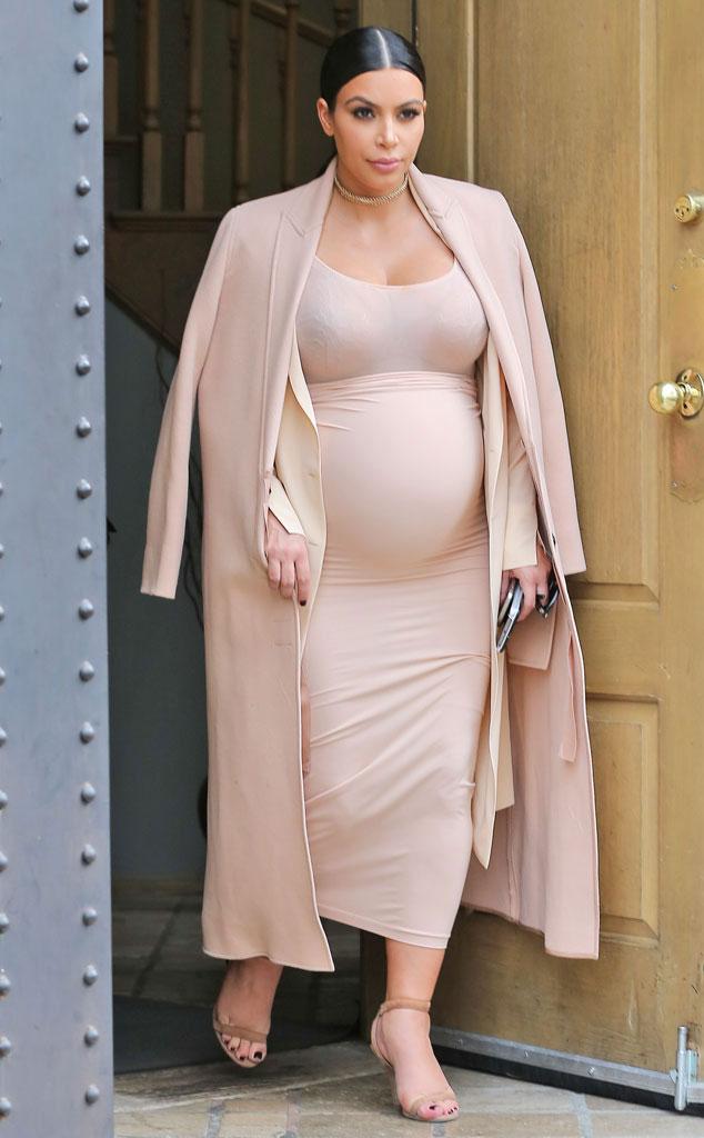 Kim's controversial pregnancy