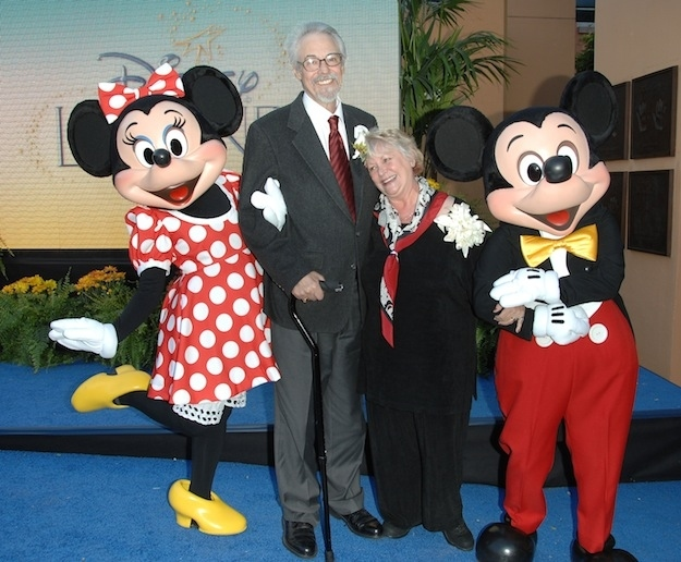 The voice of Mickey Mouse and the voice of Minnie Mouse got married in real life…