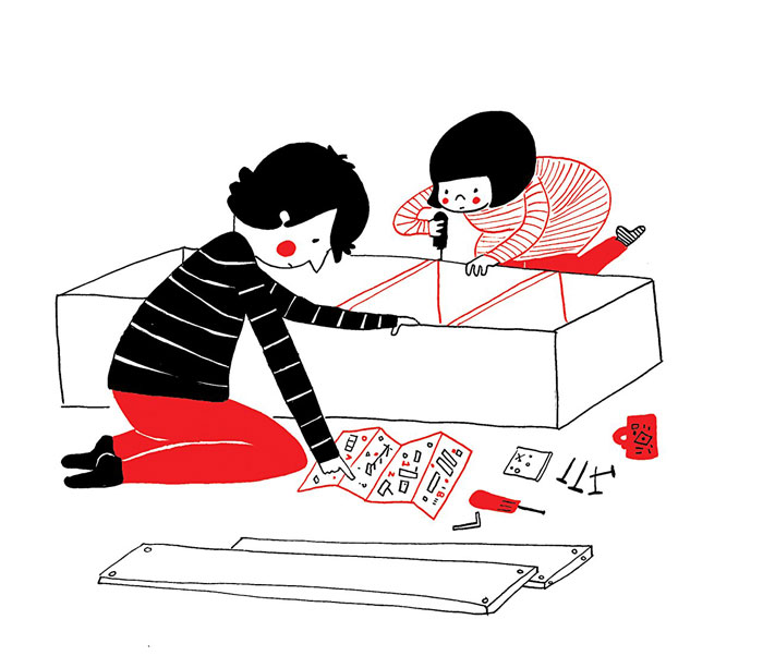 New furniture…