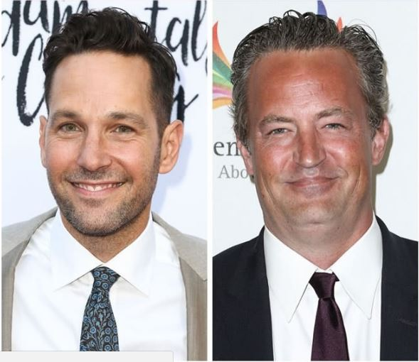 Paul Rudd and Matthew Perry