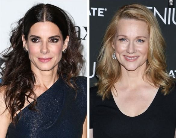 Sandra Bullock and Laura Linney