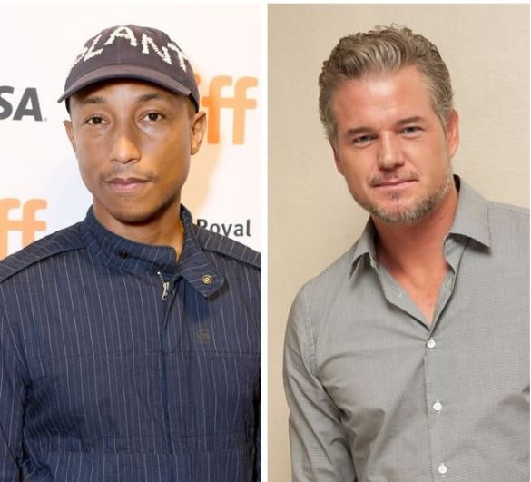 Pharell Williams and Eric Dane