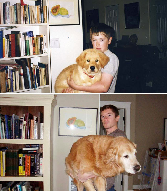 """My Dog Midas And Myself After A Decade Together"""