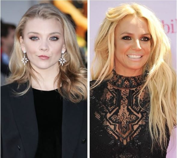 Natalie Dormer and Britney Spears