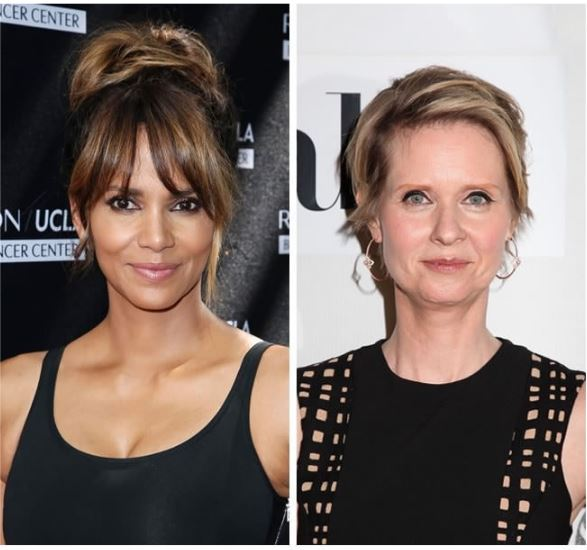 Halle Berry and Cynthia Nixon