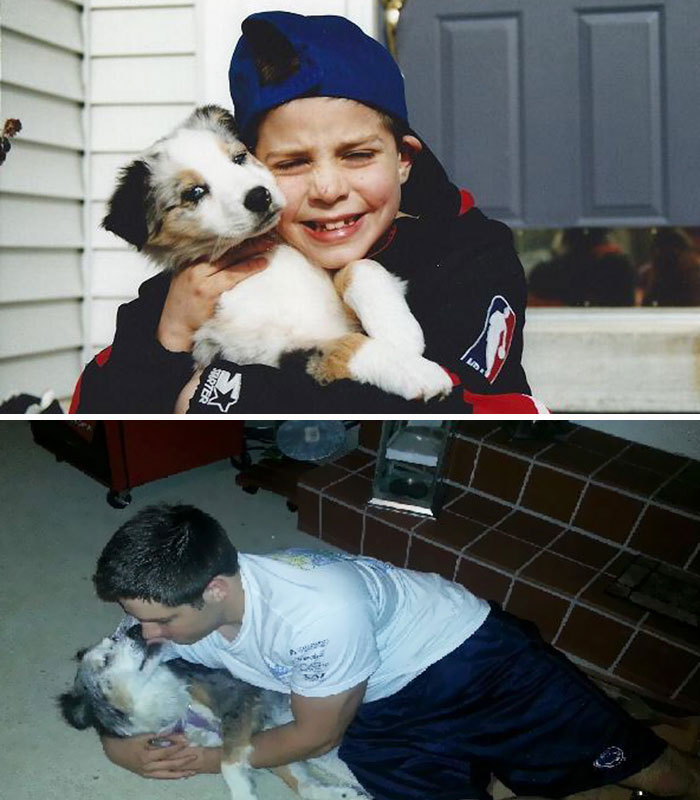 The First And Last Night With My Pup. Rest In Peace