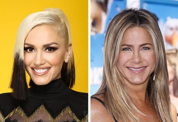 Gwen Stefani and Jennifer Aniston
