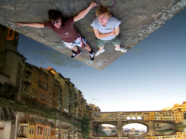 Hanging out in Italy…
