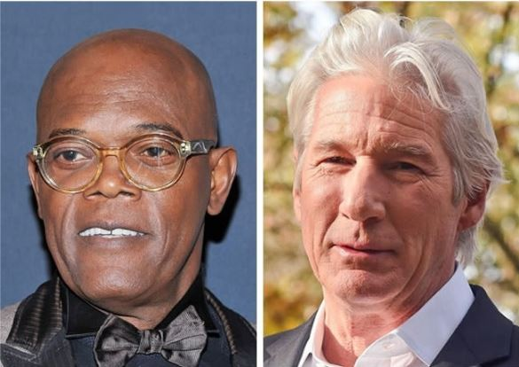 Samuel L Jackson and Richard Gere