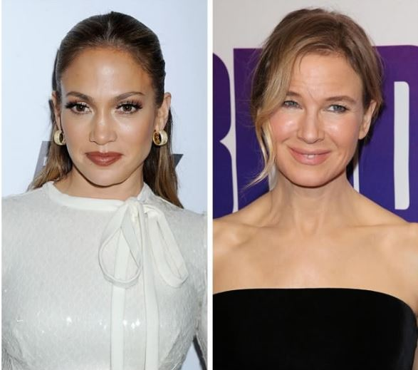 Jennifer Lopez and Renee Zellweger