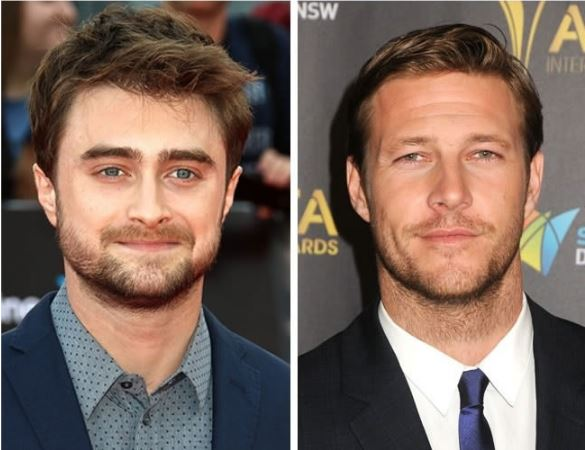 Daniel Radcliffe and Luke Bracey