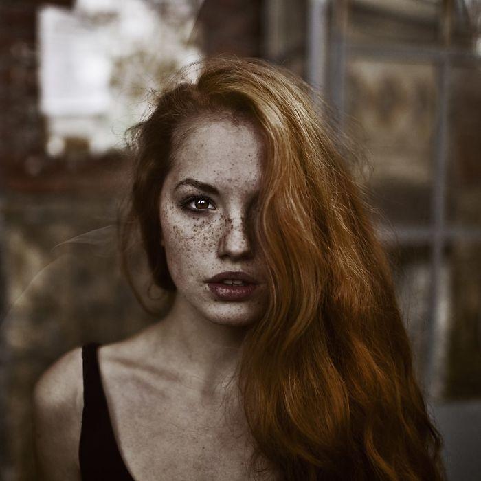 Red-headed beauty