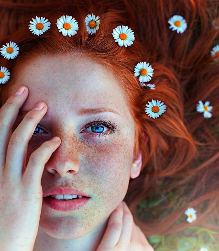 Flowers in your hair…