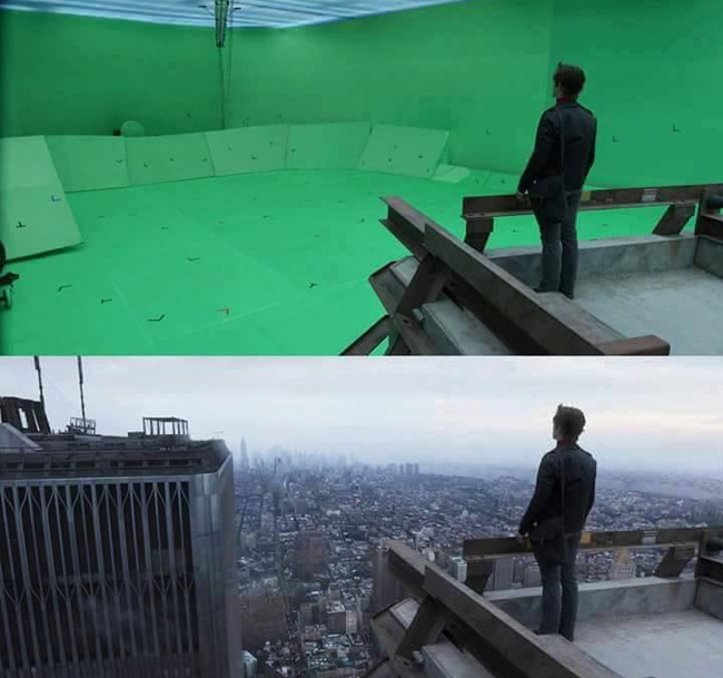 All you need is a green screen
