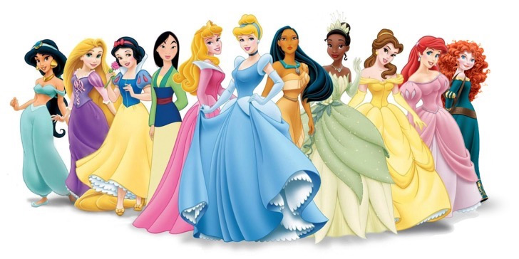 The OFFICIAL princesses