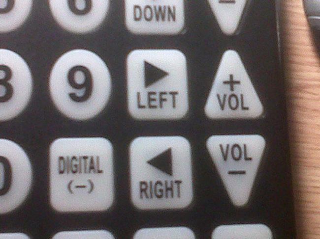 A very peculiar remote control
