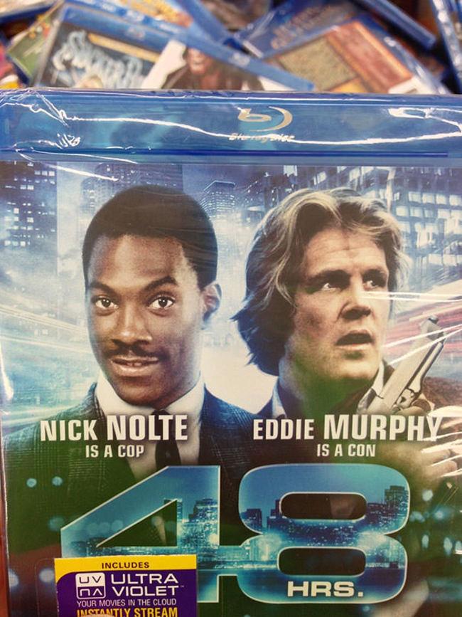 The DVD mixup
