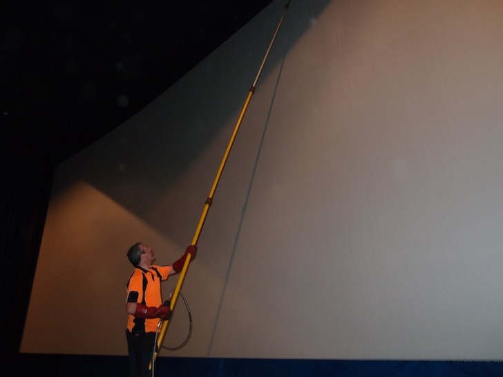 IMAX screen cleaners