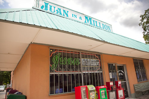 Juan in a Million, Austin, Texas, USA