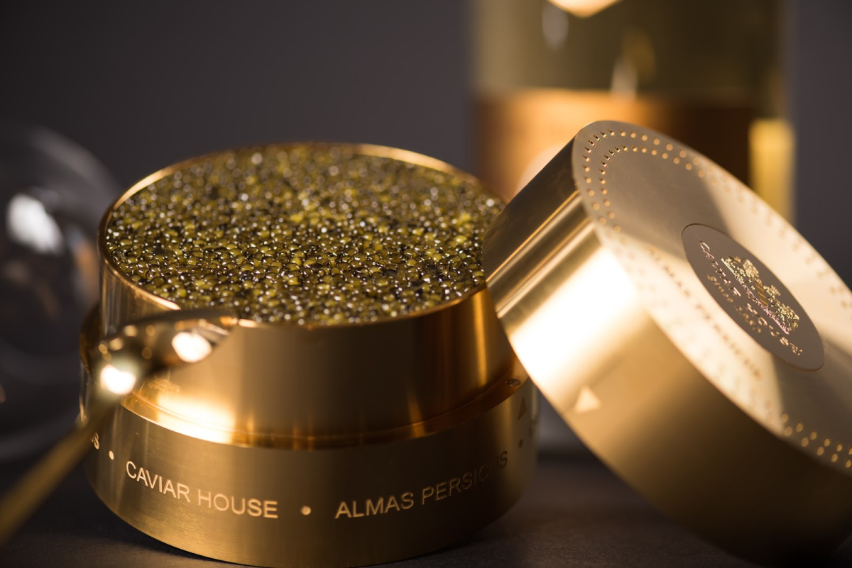 Almas Caviar ($25,000) - Caviar House & Prunier, London