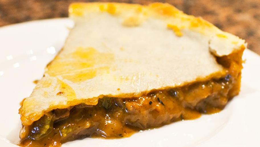 Waygu & Mushroom pie ($1,800) - Fence Gate Inn, Lancashire