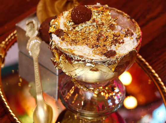 Golden Opulence Sundae ($1,000) - Serendipity 3, New York