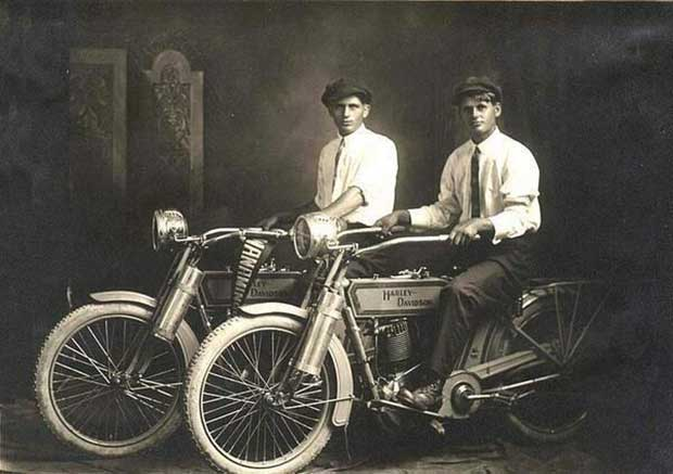 The Founders of the Harley-Davidson Motorcycles