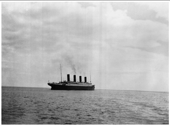 Saying bye to the Titanic