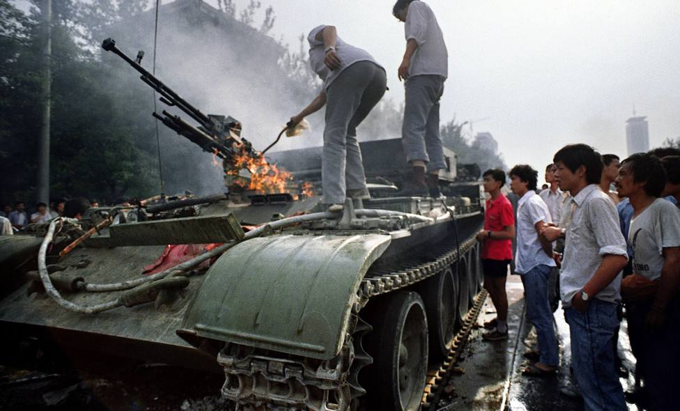 Anything related to the Tiananmen Massacre