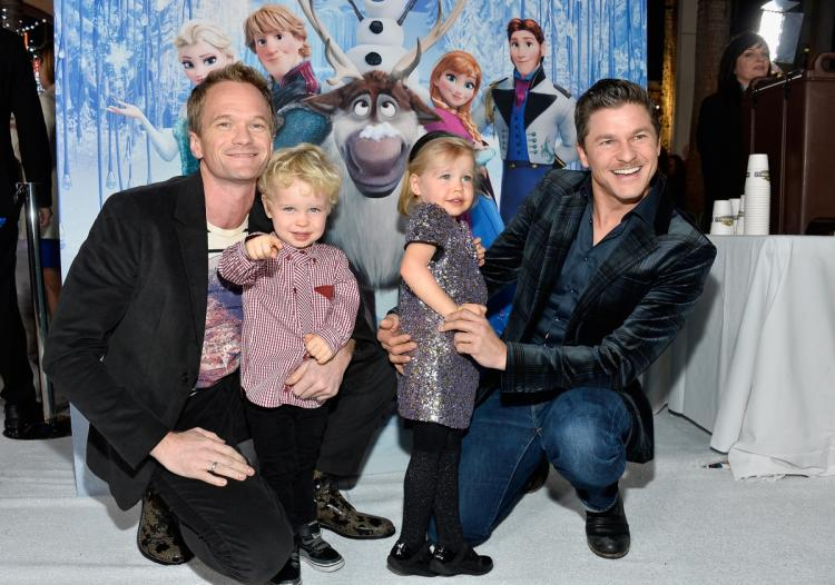 Harper and Gideon Burtka- Harris - Children of Neil Patrick Harris