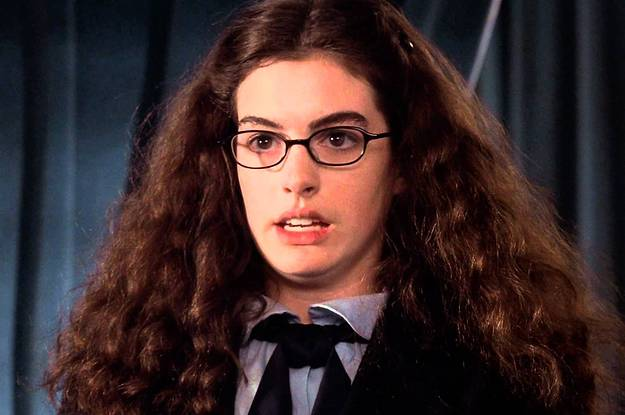 Mia in The Princess Diaries