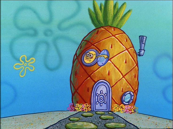 SpongeBob in cartoon